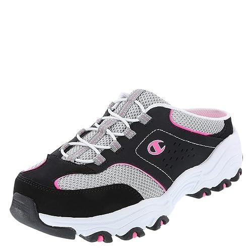 2745c6d09911 Champion Black Pink Women s Margaret Mule Sneaker 7.5 Regular ...