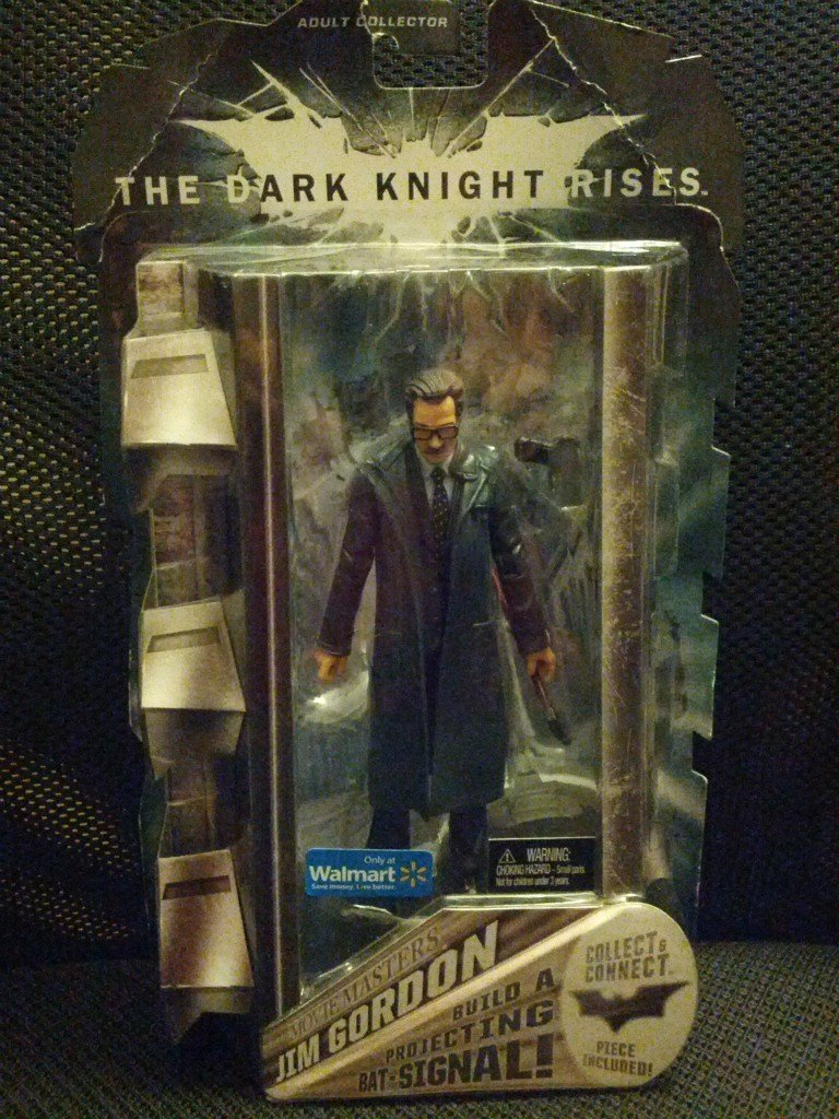 Batman y1459 – Figura Collector Dark Knight Rises – Jim Gordon