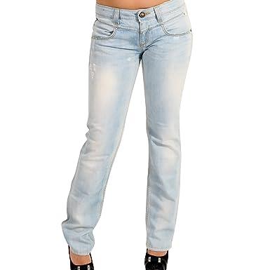 einzigartiges Design bester Wert zu Füßen bei MISS SIXTY Damen Jeans BRANDO in Hellblau Größe 29/34 ...