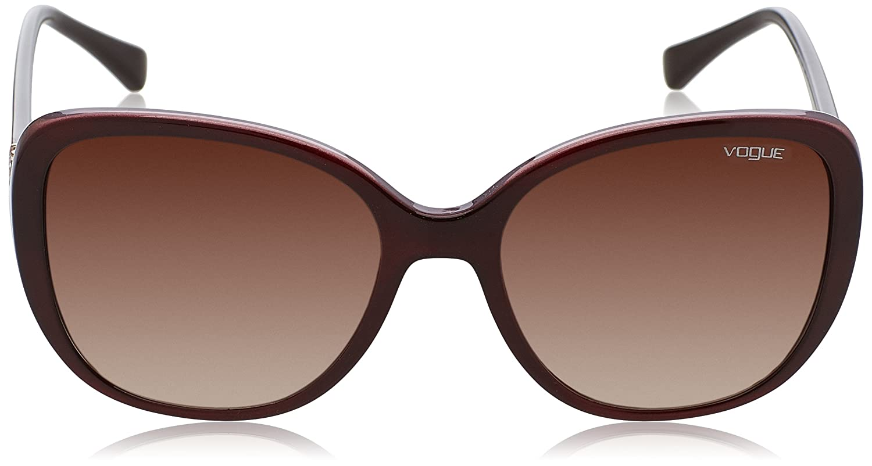 Amazon.com: luxxotica Mujer Cuadrado anteojos de sol de ...