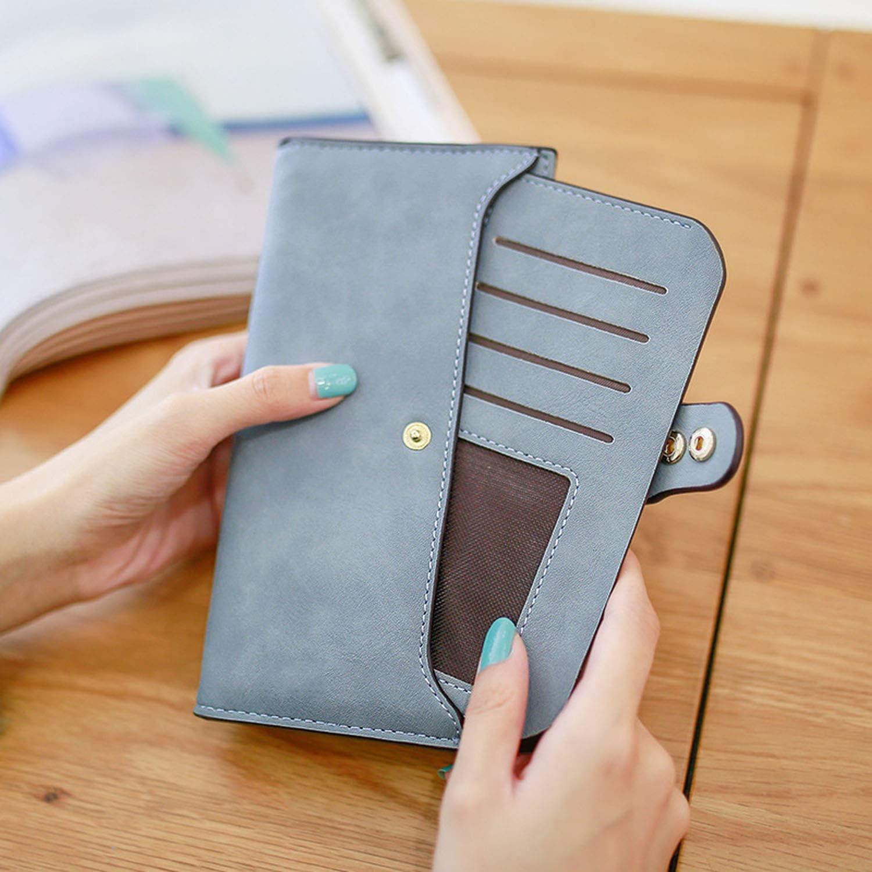 2019 Women Wallet Long Leather Wallets Popular Change Purse Casual Ladies Cash Purse S165