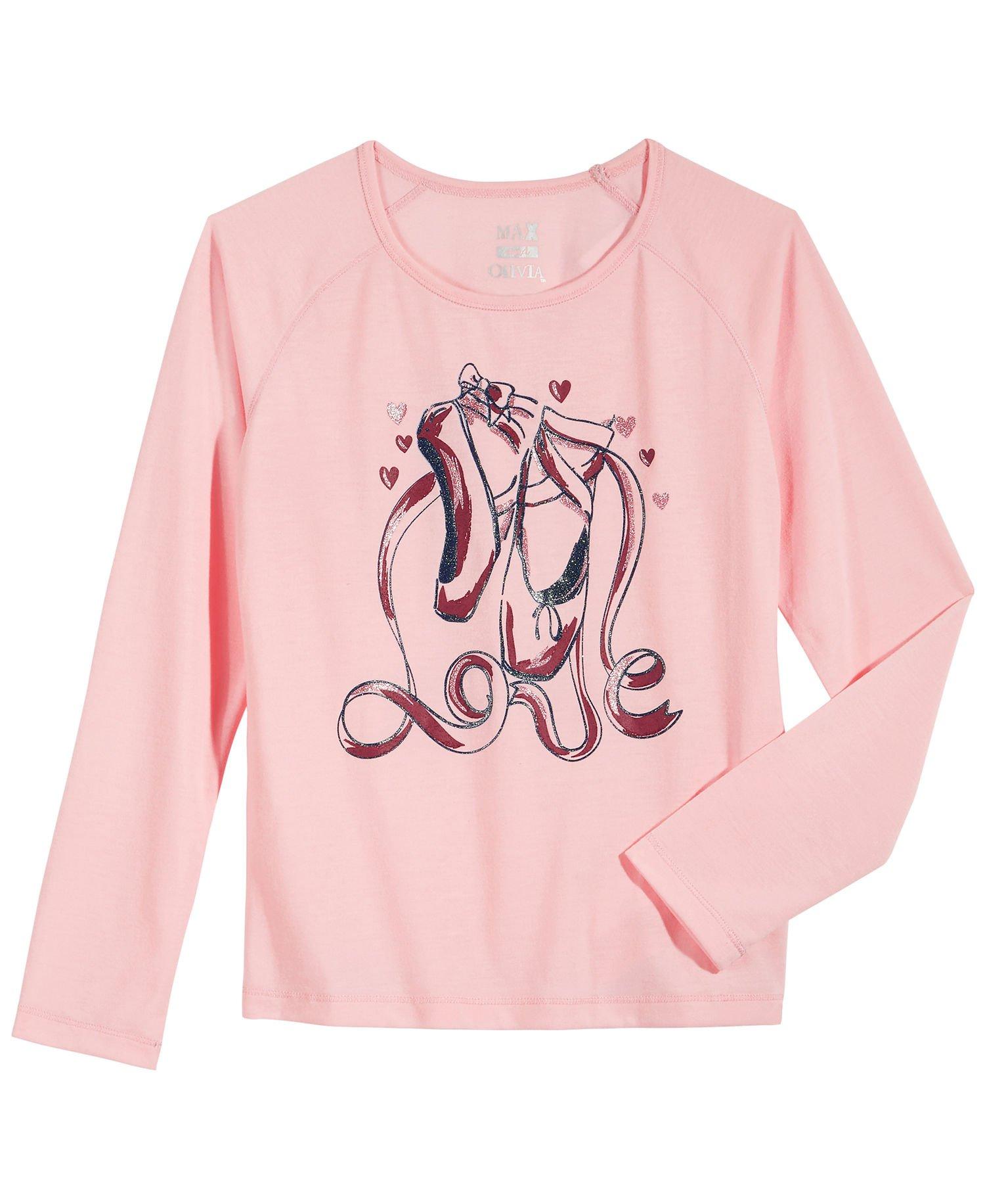 Max & Olivia Girls Polo Shirt Golf (Large, Pink) by Max & Olivia (Image #1)