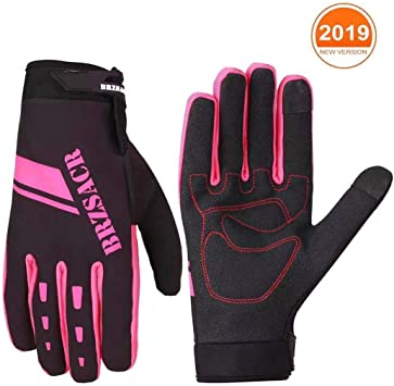 New Bicycle Cycling Gloves Hot Full Finger MTB Bike Glove Windproof Shockproof