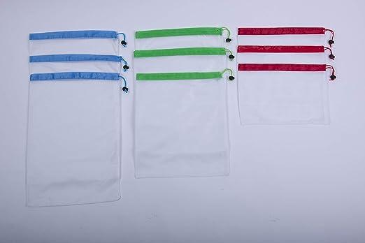Bolsas de malla reutilizables premium para productos de ver a ...