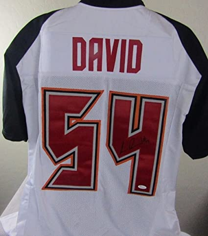 Image Unavailable. Image not available for. Color  LAVONTE DAVID SIGNED  AUTOGRAPHED TAMPA BAY BUCCANEERS JERSEY 65d3e174fa5