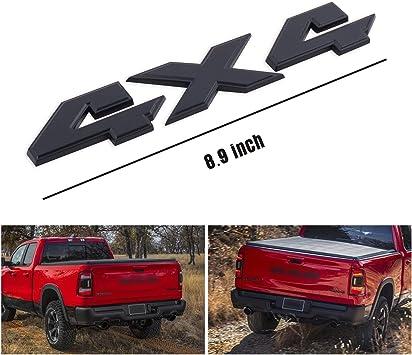 Dodge Ram 1500 Heavy Duty Chrome Letters Nameplate Badge 3M Sticker 1 Pcs