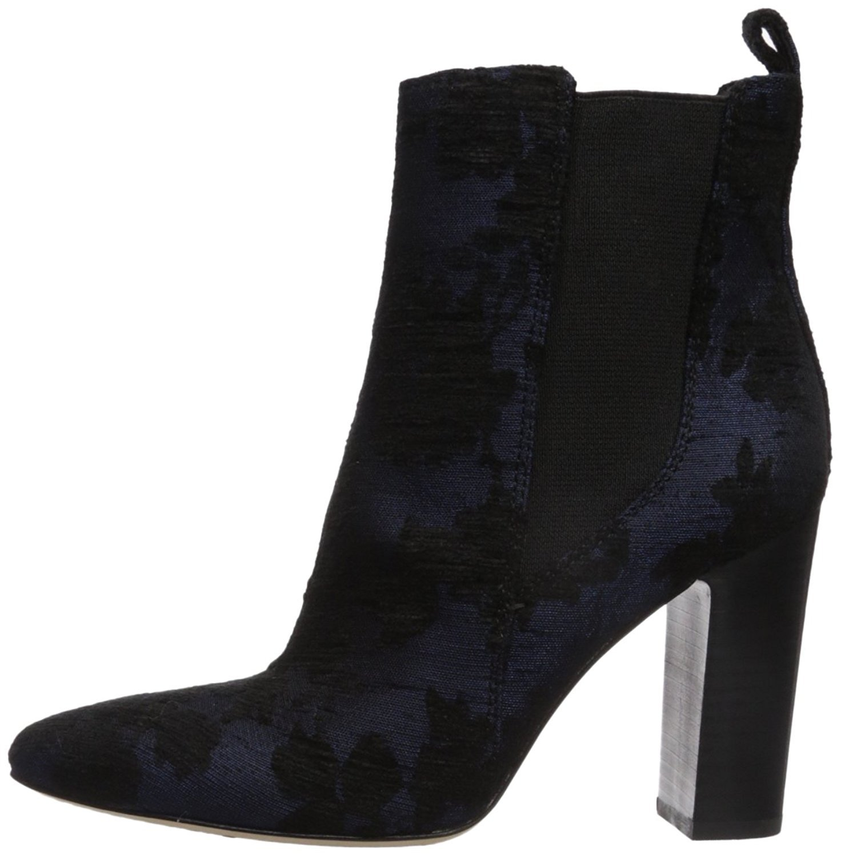 Vince Camuto Women's Britsy Ankle Boot B0728H2DGH 7.5 B(M) US|Black/Blue Multi