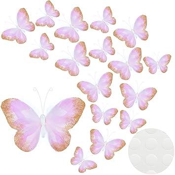 Up to 53 butterflies wall stickers bedroom bathroom kids sticker 4 sizes