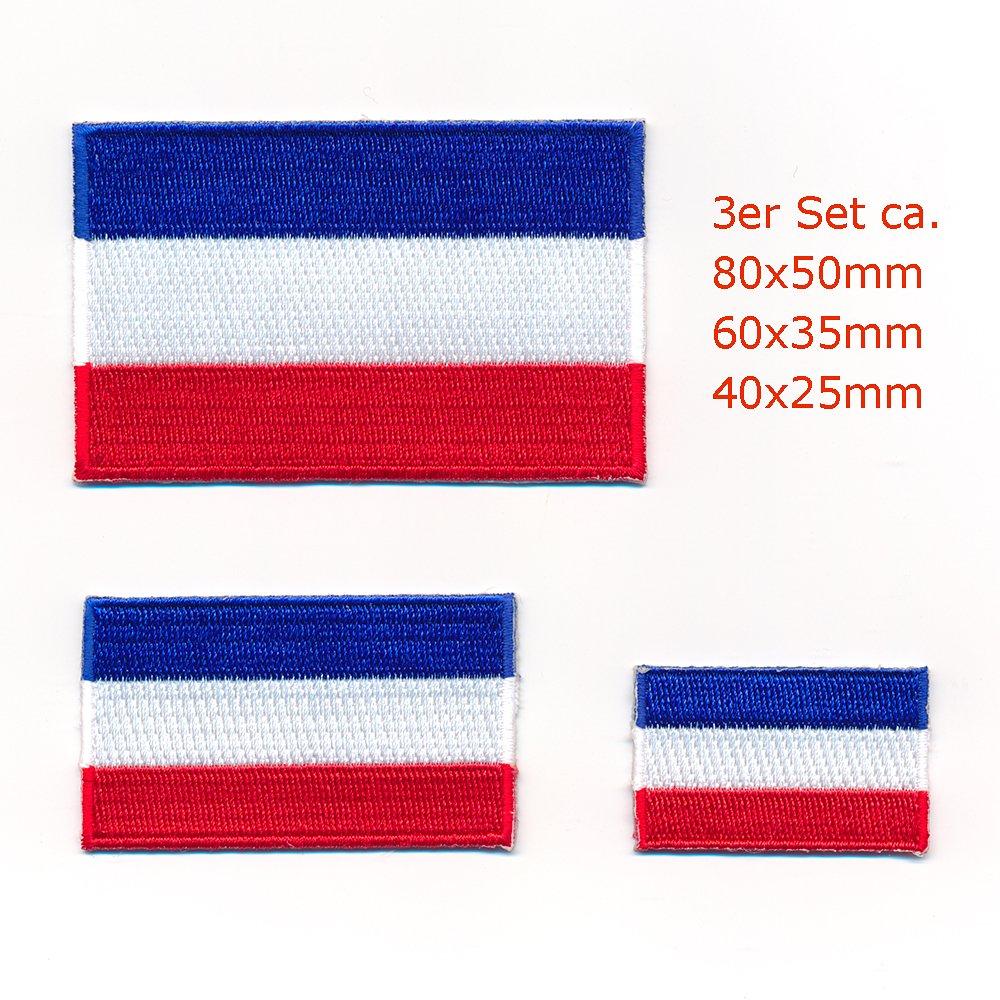 3/Flags Drapeau Pays-Bas Amsterdam la Haye Patch /écusson thermocollant Set 1001