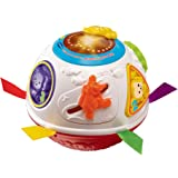 VTech Baby Crawl and Learn Lights Ball - White and Red