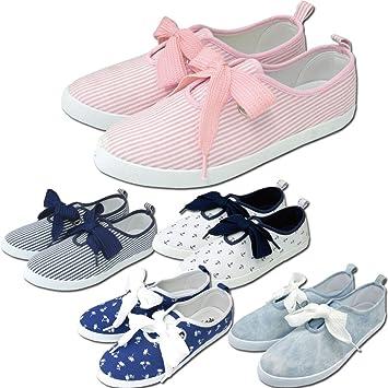 114144ef90a31 Amazon.co.jp: 82141-150(ピンクヒッコリー, L)/ZIP【Ribbon Sneaker ...