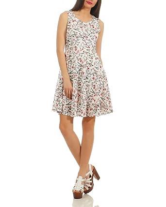 gemütlich frisch am besten online neu kommen an Sweet Miss Damen Sommerkleid Strand Kleid Blumen-Print ...