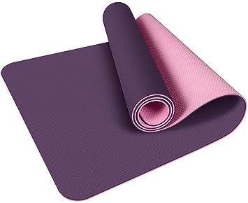 Yoga Mat - Eco Friendly Antideslizante Ejercicio Mat Yoga ...