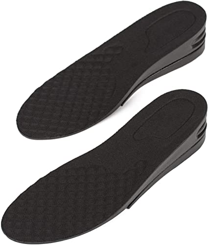 1.5-In Men Soft High Arch Mid Sole Support Height Increase Elevator Shoe Lift