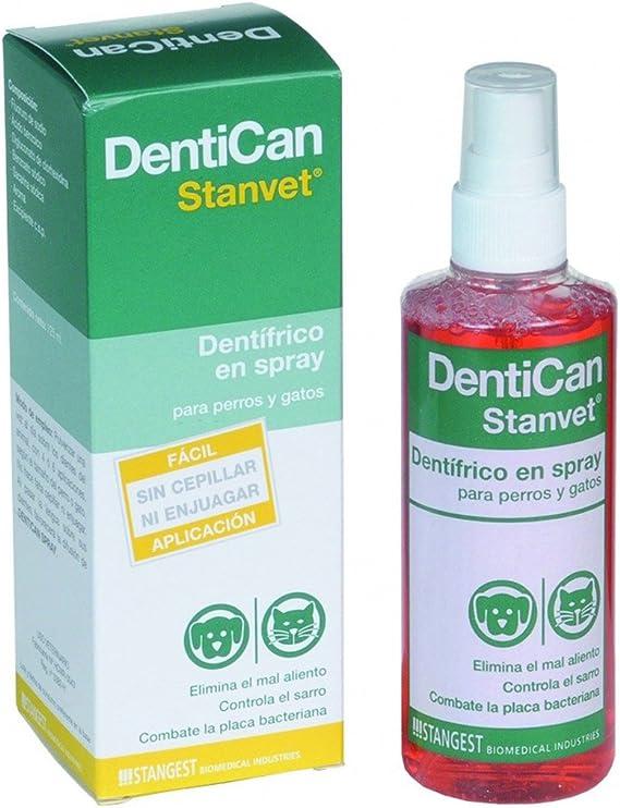 Stangest Dentican Spray Dental - 125 ml: Amazon.es: Productos para mascotas