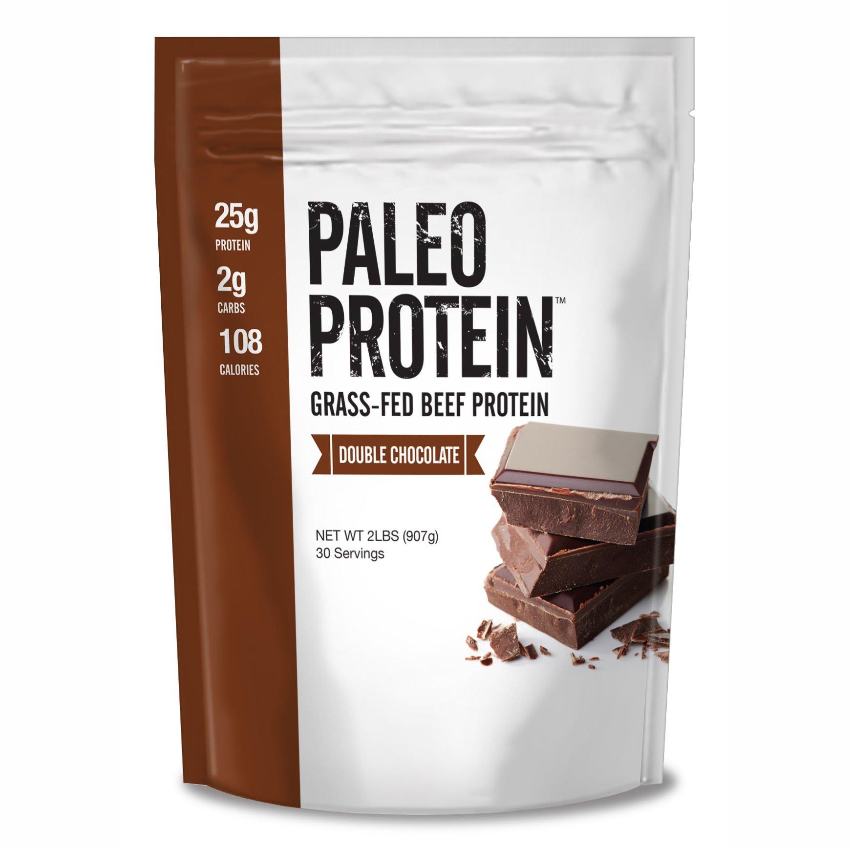 Julian Bakery Paleo Protein Double Chocolate Powder Grass Fed Beef, 2 Pound