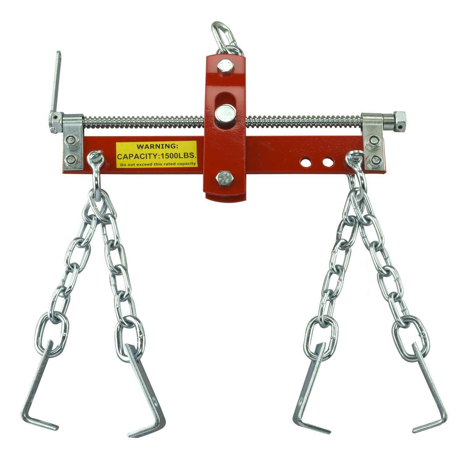 Engine Load Leveler | 3/4 Ton 1500lb Capacity Heavy Duty Hoist Mount 4 Hooks