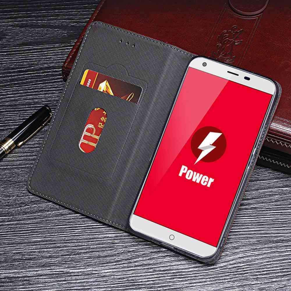Amazon.com: Case for Ulefone Power, Leather Stand Wallet ...