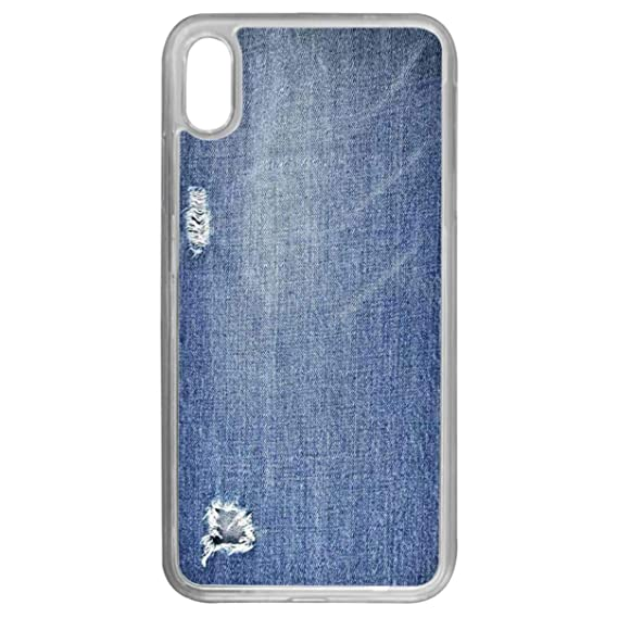 Amazon Com Iphone Xs Max Case Jeans Lace Textura Iphone Xs