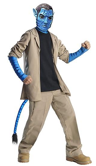 Rubies Avatar 884293M - Disfraz y máscara de Jake Sully para niños ...
