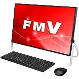 富士通 デスクトップパソコン FMV ESPRIMO FHシリーズ WF1/C2 (Windows 10 Home/23.8型ワイド液晶/Core i7/8GBメモリ/約1TB HDD/スーパーマルチドライブ/Officeなし/ブラック)AZ_WF1C2_Z757/富士通WEB MART専用モデル