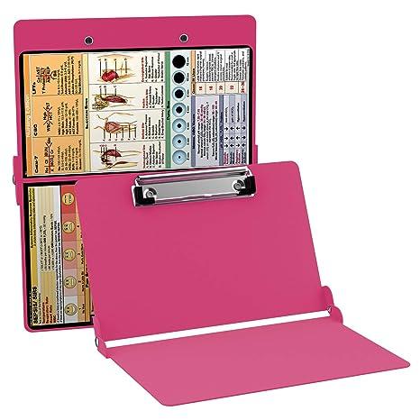 ae4b03d137b3 Amazon.com   WhiteCoat Clipboard- Pink - Nursing Edition   Office Products