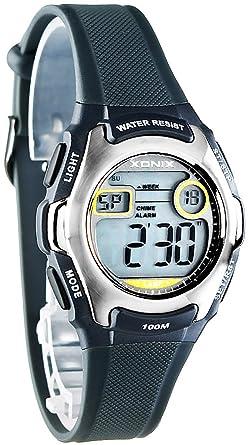 Armbanduhr kinder digital  Zierliche XONIX Armbanduhr für Damen und Kinder digital WR100m, YF ...