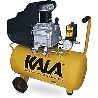 Compressor de Ar 1.5 Hp Pistão 8 Bar Kala 1100W Vermelho