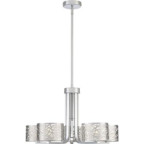 Amazon.com: Quoizel pcae5005 C lámpara de araña colección ...