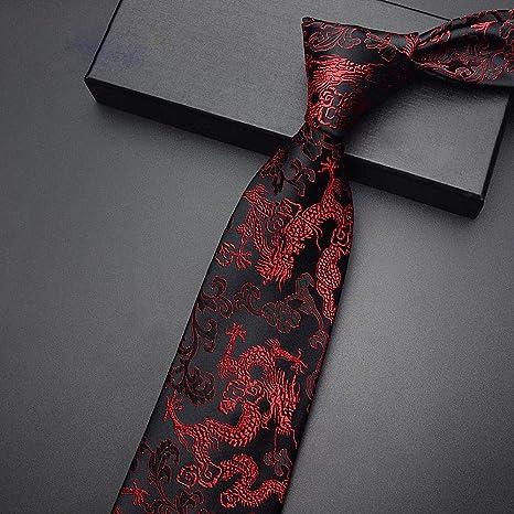 Wangwang454 Exquisita Corbata De Alta Gama Corbata para Hombre ...