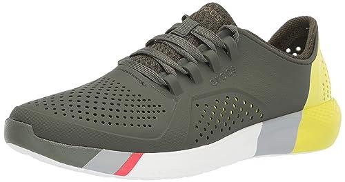 96b7674bed55a Crocs Men's LiteRide Colorblock Pacer Sneaker