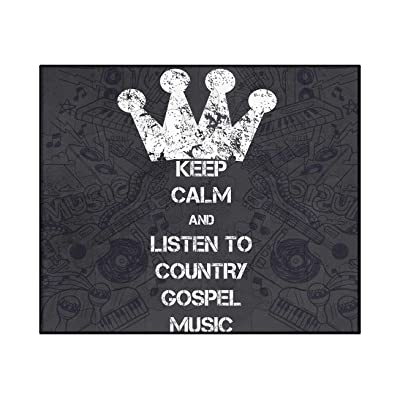 Makoroni - Keep Calm and Listen to Country Gospel Music - 30 psc. Jigsaw Puzzle: Toys & Games