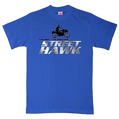 4fde66a9ab6 8Ball Originals - Mens Street Hawk T Shirt - Medium - Royal Blue ...