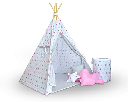 Straordinaria tenda tipi tenda per bambini grande set di
