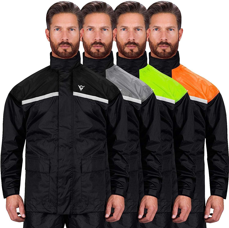 Cycling Camping Windproof Jacket Pants Rainwear Suit Bike Sports Rain Coat