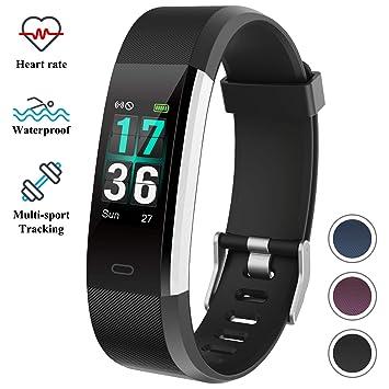 ITSHINY Pulsera Actividad Inteligente, Monitores Actividad Pulsera Deportiva Impermeable IP68 Reloj Fitness Tracker Hombre Mujer: Amazon.es: Deportes y aire ...