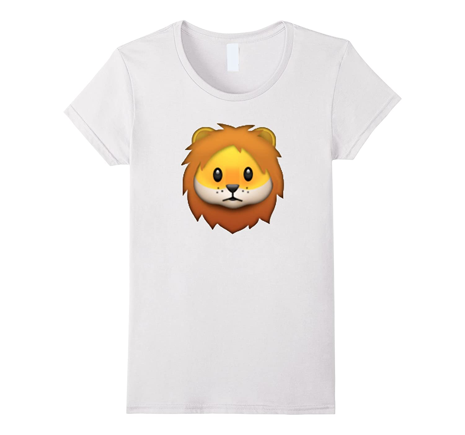 Emoji – Lion – Be A Proud Lion With This Lion T-Shirt-Teeae