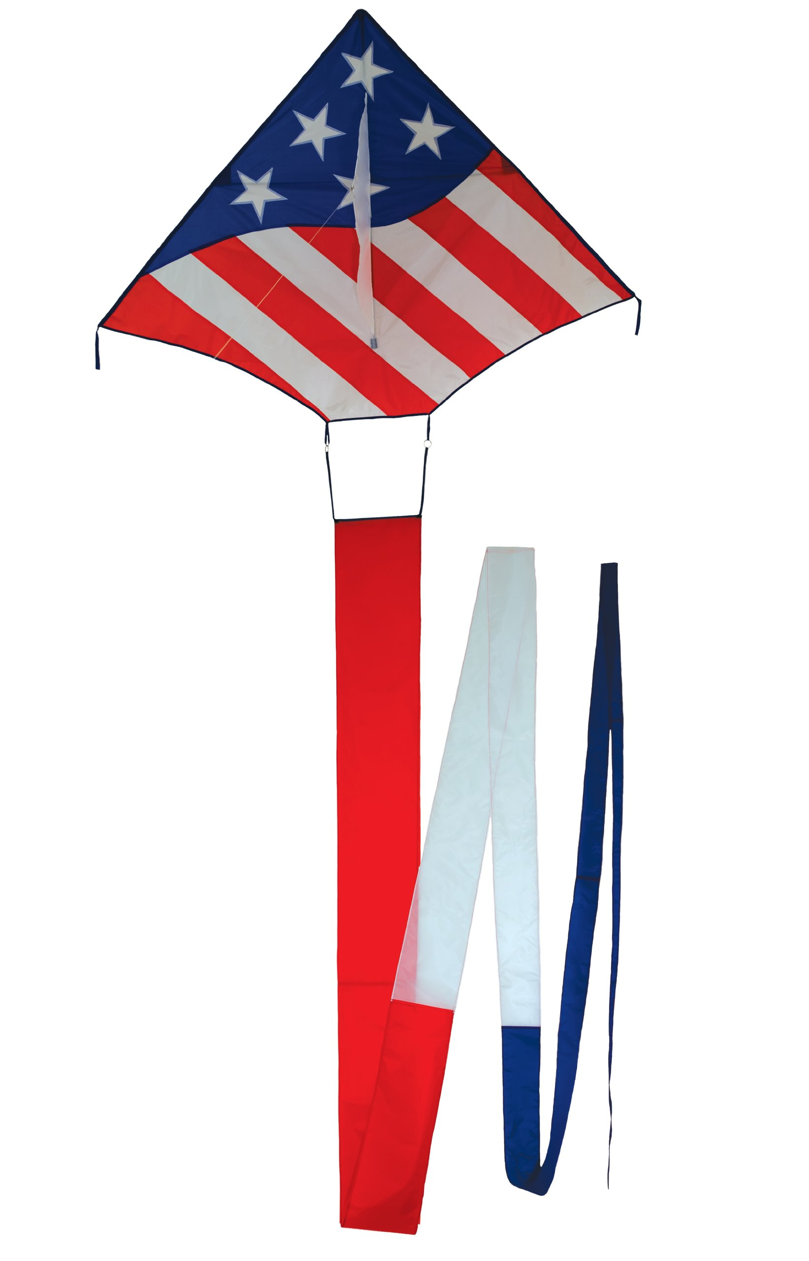In the Breeze Patriot Delta Kite with Tail
