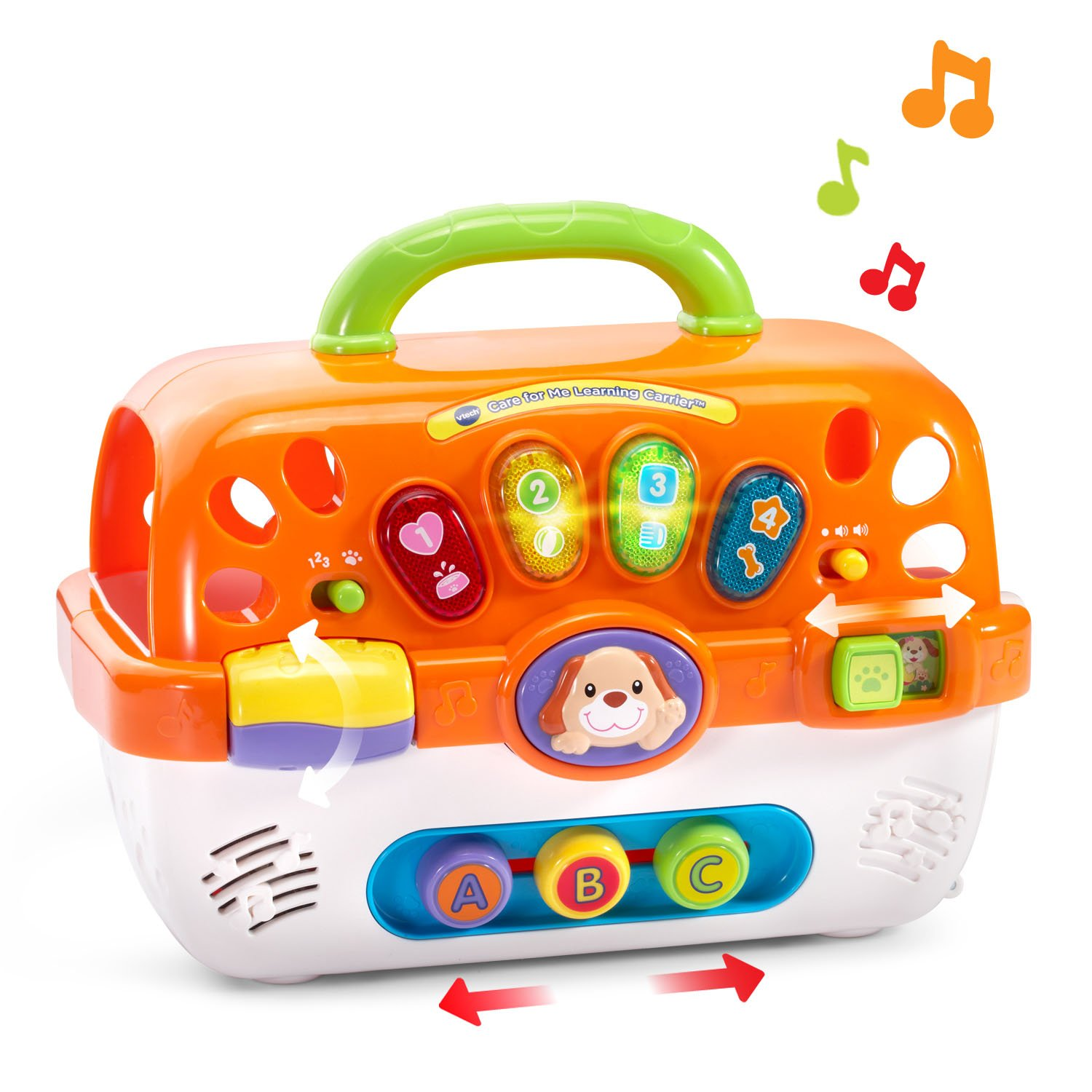 VTech Care for Me Learning Carrier Toy, Orange by VTech (Image #3)