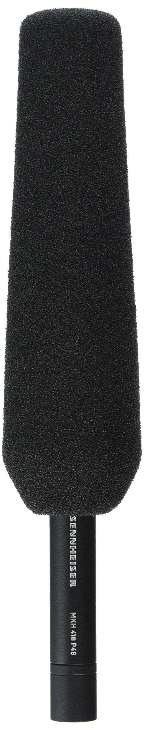 Sennheiser MKH416-P48U3 Super-Cardioid Shotgun Tube Condenser Microphone by Sennheiser (Image #1)