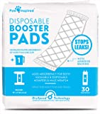 Paw Inspired 30ct Dog Diaper Pads | Disposable Diaper Liners | Booster Pad Inserts fit Most Dog Diapers and Belly Bands…