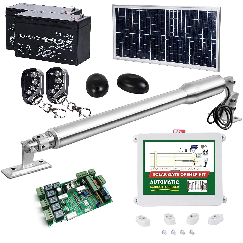 DC House EM3 Heavy-Duty Solar Gate Opener Kit
