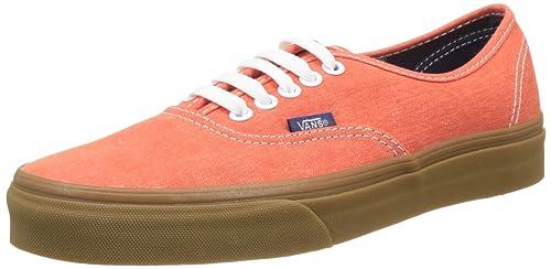 scarpe vans uomo arancioni