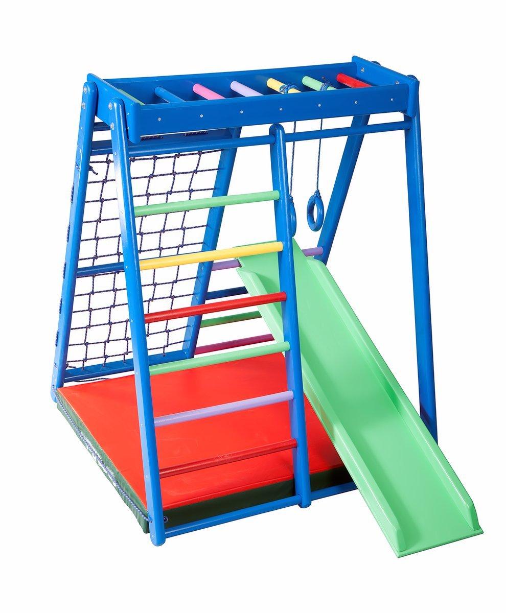 FunnyClouds Kinder Aktivitätsspielzeug Kletterturm mit Rutsche ...