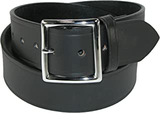 product image for Boston Leather Men's Big & Tall Leather 1 3/4 Inch Garrison Belt