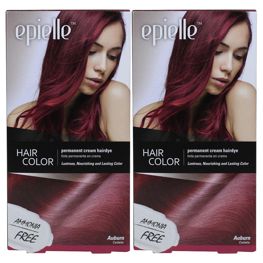 Amazon Kareway Epielle Hair Color For Women Auburn Pack Of 2