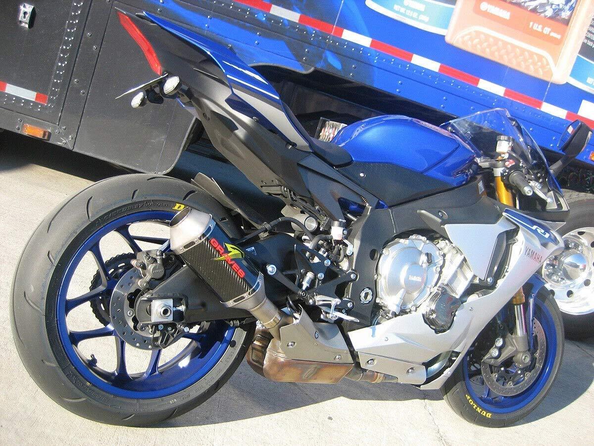 Graves Motorsports Yamaha R1 FZ-10 MT-10 Cat Back Slip-On Exhaust EXY-15R1-CBTC