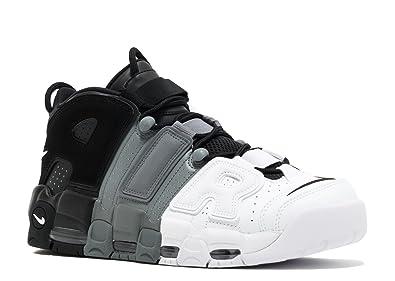 Nike Mens Air More Uptempo '96 Basketball Shoes Black/Black-Cool Grey/