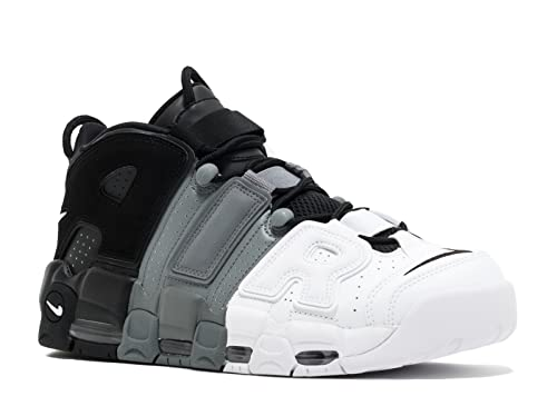 080abc98c62 Nike Mens Air More Uptempo  96 Basketball Shoes Black Black-Cool Grey White  921948-002 Size 8. 5  Buy Online at Low Prices in India - Amazon.in