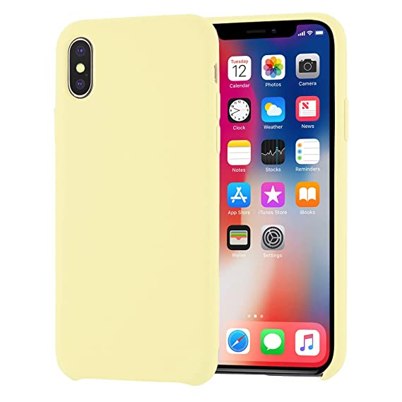 4fc824c13 Image Unavailable. Image not available for. Color: iPhone Xs Case, iPhone X  Case, Liquid Silicone ...